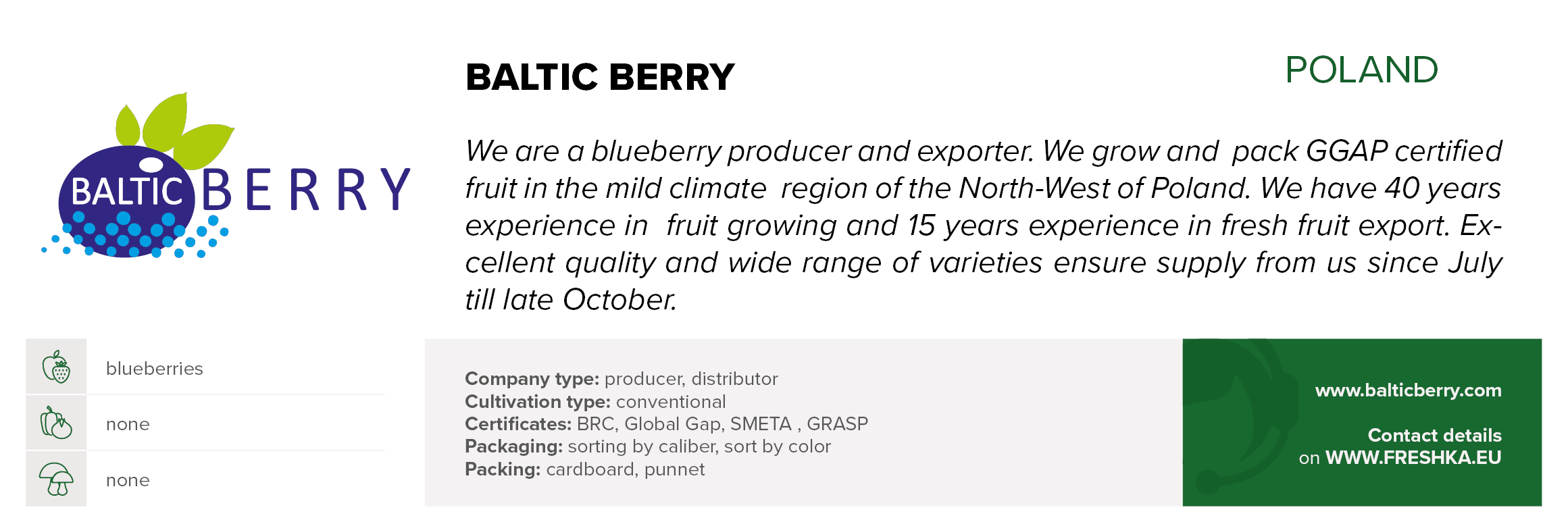 BALTIC BERRY